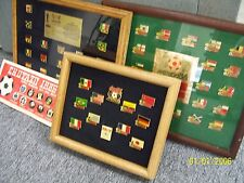 World cup 1986 complete pin badge set