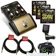 LR Baggs Session DI Acoustic Guitar w/Power Supply Cables Strings Tuner