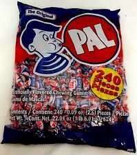 Pal Gum 240 Piece Bag Candy Original Chew Bulk Candies Free Ship