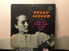 PEGGY SEEGER -A Song For You And Me ~PRESTIGE/INTERNATIONAL 13058{dg orig}  RARE