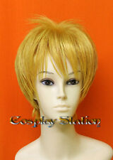 Hetalia Axis Powers England Blond Cosplay Wig_wig341