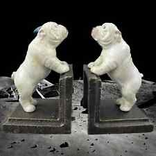 Buchstützen BULLDOG PAIR OF CAST IRON BOOK-ENDS HxWxL: 13 x 7,8 x 7,8 cm