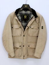 Vintage Belstaff Canvas Roadmaster Jacket Biker Coat Trialmaster Sahara Edition