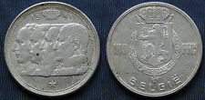 MONETA COIN MONNAIE BELGIO BELGIE BELGIQUE 1951 FRANCS 100 FRENCH LEGEND ARGENTO