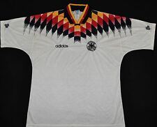 1994-1996 GERMANY ADIDAS HOME FOOTBALL SHIRT (SIZE L)