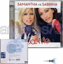 "SAMANTHA FOX vs SABRINA SALERNO ""CALL ME"" CD ITALY NEW"