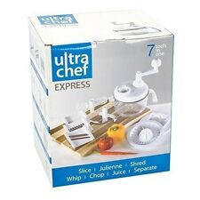 Ultra Chef Express Salsa Maker Chopper Slicer Mixer