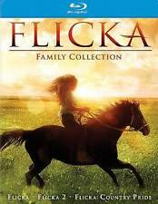 Flicka Triple Feature (Blu-ray Disc, 2014, 3-Disc Set)