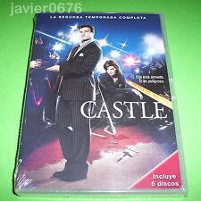 CASTLE SEGUNDA TEMPORADA EN DVD NUEVO Y PRECINTADO 6 DISCOS