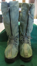 Vintage Winter/Outdoor Military Quality Canvas Tall Snow Boot's L