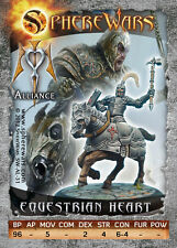 Sphere Wars Equestrian Heart Alliance metal miniature new