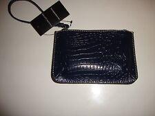 Wilson Leather Wristlet w/Cashwrap Pink Navy Green Purple Brown Black Coin Purse