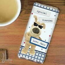 Personalised Boofle Male Milk Chocolate Bar, Birthdays, Gift For Him, Daddy