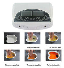 New Professional  Ion Detox Ionic Foot Bath Infrared Spa  Machine With Dual LCD