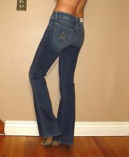 Seven 7 For All Mankind $178 A-Pocket Boot to Flare Jeans Medium Vintage 27 NWT