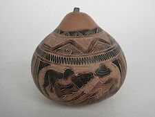 CARVED GOURD - 90mm wide