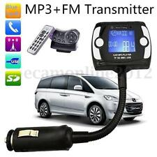 Coche LCD Inalámbrico Bluetooth TF SD FM Transmisor MP3 Reproductor Manos Libres