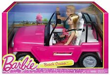 Barbie Beach Cruiser ~ Includes Barbie and Ken Doll *BRAND NEW*