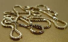 8K 333 Cadena Cadena veneciana Collar Cadena de oro 51 cm 4, 00gr