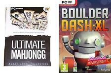 Ultimate Mahjongg & boulder dash xl   new&sealed