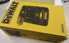 100% NEW DEWALT 7.2V 9.6V 14.4V18V Fast Charger 220-240V Europe DW9116-QW