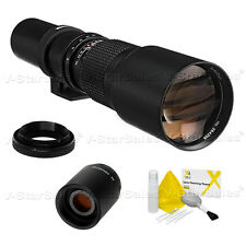 Bower 500mm/1000mm F8 Preset Telephoto Lens for Nikon Cameras