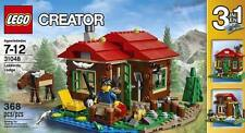 NEW LEGO Creator Lakeside LODGE 31048 House 3-in-1 Home Cabin Observatory Moose