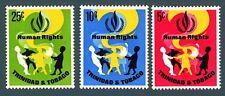 TRINIDAD & TOBAGO - 1968 - 20° Dichiarazione Universale dei Diritti Umani