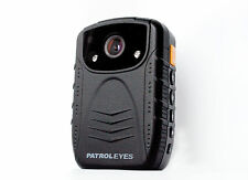 PatrolEyes HD 1080P Infrared Night Vision Police Body Camera + Kenwood PTT Cable