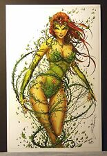 Poison Ivy Fine Art Print by Jamie Tyndall   Signed by Artist   New!
