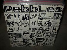 PEBBLES original punk rock from psychedelic sixties vol 9 ( rock ) blank labels