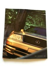 1995 Lexus LS LS400 40-page Original Car Sales Brochure Catalog