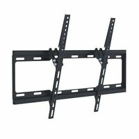 """Slim Super Thin Flat Wall Mount Bracket LCD LED PC Screen up to 70"""" TVs For Room"""