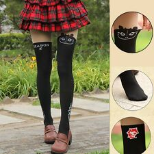How to Train Your Dragon Toothless Night Fury Pantyhose Fake Thigh High Tights