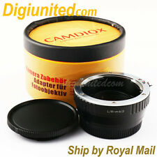 Camdiox Focal Reducer Speed Booster Leica R LR lens to Micro 4/3 m43 Adapter