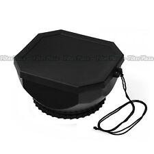 Screw Mount 43mm Lens Hood With Cap for Digital Video DV-s Canon Sony Camcorder