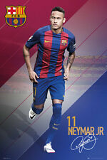 Barcelona FC Poster - Neymar 16/17 - New Barcelona Football poster SP1402
