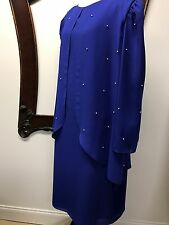 NWT Womens Size 22W Plus Wedding Mother of the Bride Formal Party Dress Gown