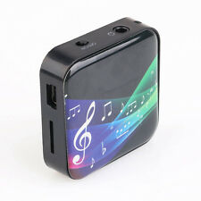 Multifunctional Wireless Bluetooth Mp3 Player Receiver W/ Anti-radiation Headset