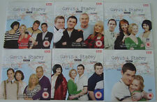 GAVIN & STACEY FULL SET OF SERIES 1 ON 6 PROMO DVDS - UNPLAYED CONDITION