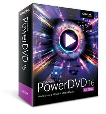 Cyberlink PowerDVD 16 Ultra - Bonus Free PhotoDirector 7 Deluxe - Boxed Version