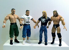 WWE Assorted Jakks Lot.  John Cena and Triple H (HHH).  Loose figures.