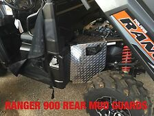2016 2017 POLARIS RANGER 1000 BLACK  DIAMOND PLATE MUD BLOCKERS