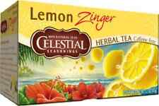 Celestial Seasonings Lemon Zinger Tea 20 Bags (Pack of 3)