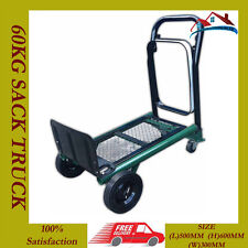 60kg Heavy Duty pieghevole Sack Camion Mano Industriale Trolley Carrello Warehouse Auto ***