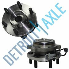 Pair: 2 New FRONT Driver and Passenger Wheel Hub Bearing - w/ ABS - 4x4