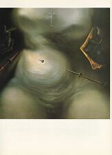 "1976 Vintage SALVADOR DALI ""LIFE OF MARY MAGDALENE"" COLOR Art Print Lithograph"