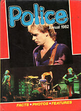 WHEN STING WAS BUT A LAD - THE POLICE ANNUAL FOR 1982 - THEIR FIRST WORLD TOUR