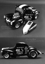 "ACME 1940 WILLYS ""FILTHY FORTY"" GASSER PRO-STOCK NHRA"