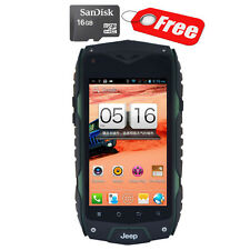 "16GB 4"" JEEP Z6 Smartphone Quad Core Rugged Android Unlocked GSM Cell Phone"
